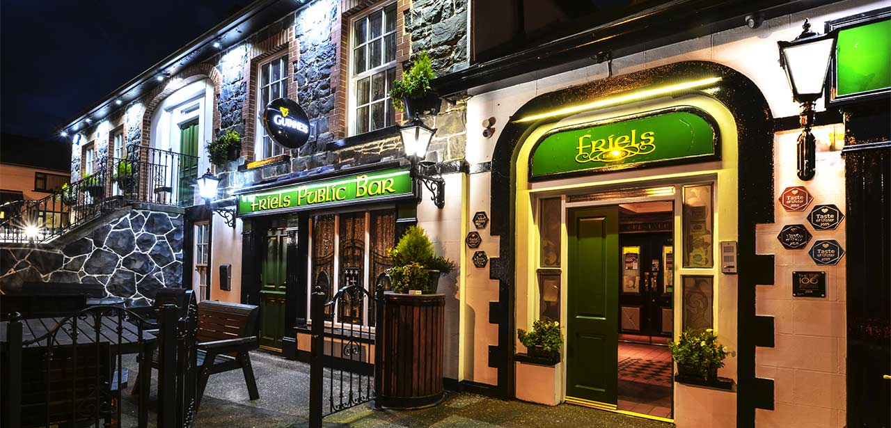 friels historic irish pub in derry northern ireland